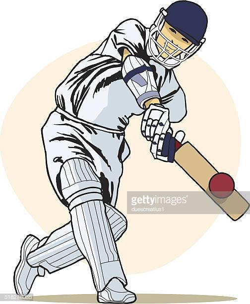 60 Top Cricket Player Stock Illustrations, Clip art, Cartoons.
