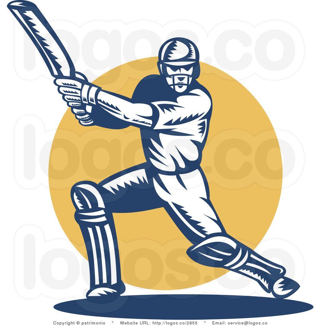 Cricket Bat Clip Art.