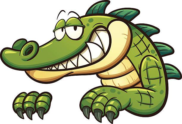 Best Crocodile Illustrations, Royalty.