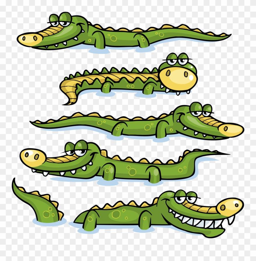 Crocodile Clipart River Clipart.