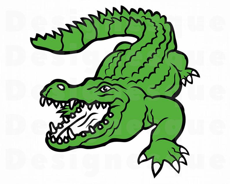 Crocodile SVG, Alligator Svg, Crocodile Clipart, Crocodile Files for  Cricut, Crocodile Cut Files For Silhouette, Crocodile Dxf, Png, Eps Svg.