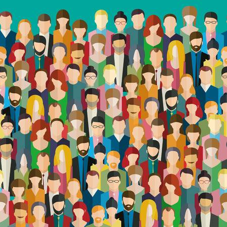 76,657 Crowd Of People Cliparts, Stock Vector And Royalty Free Crowd.