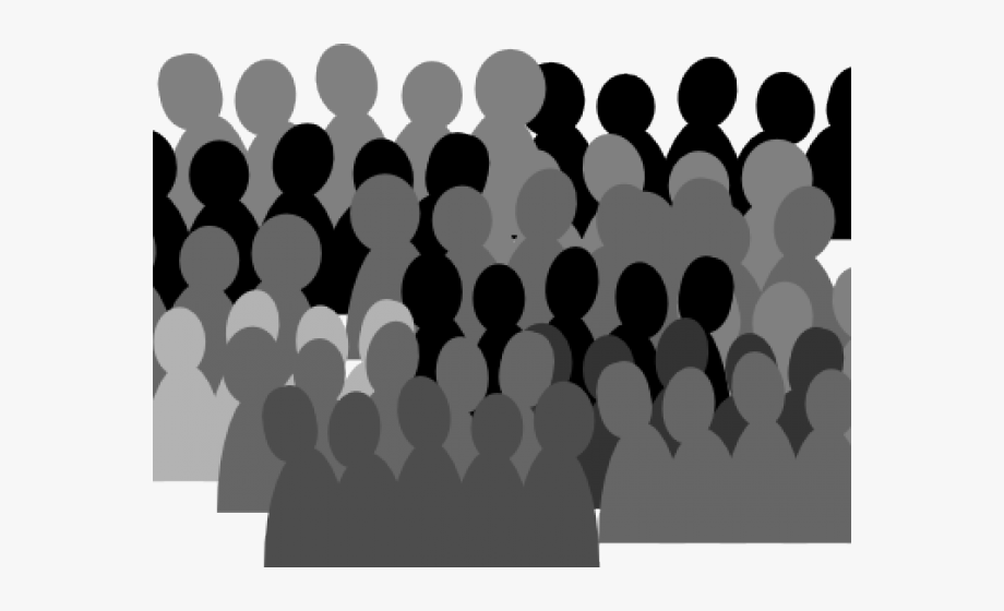 Crowd Clipart Shadow.