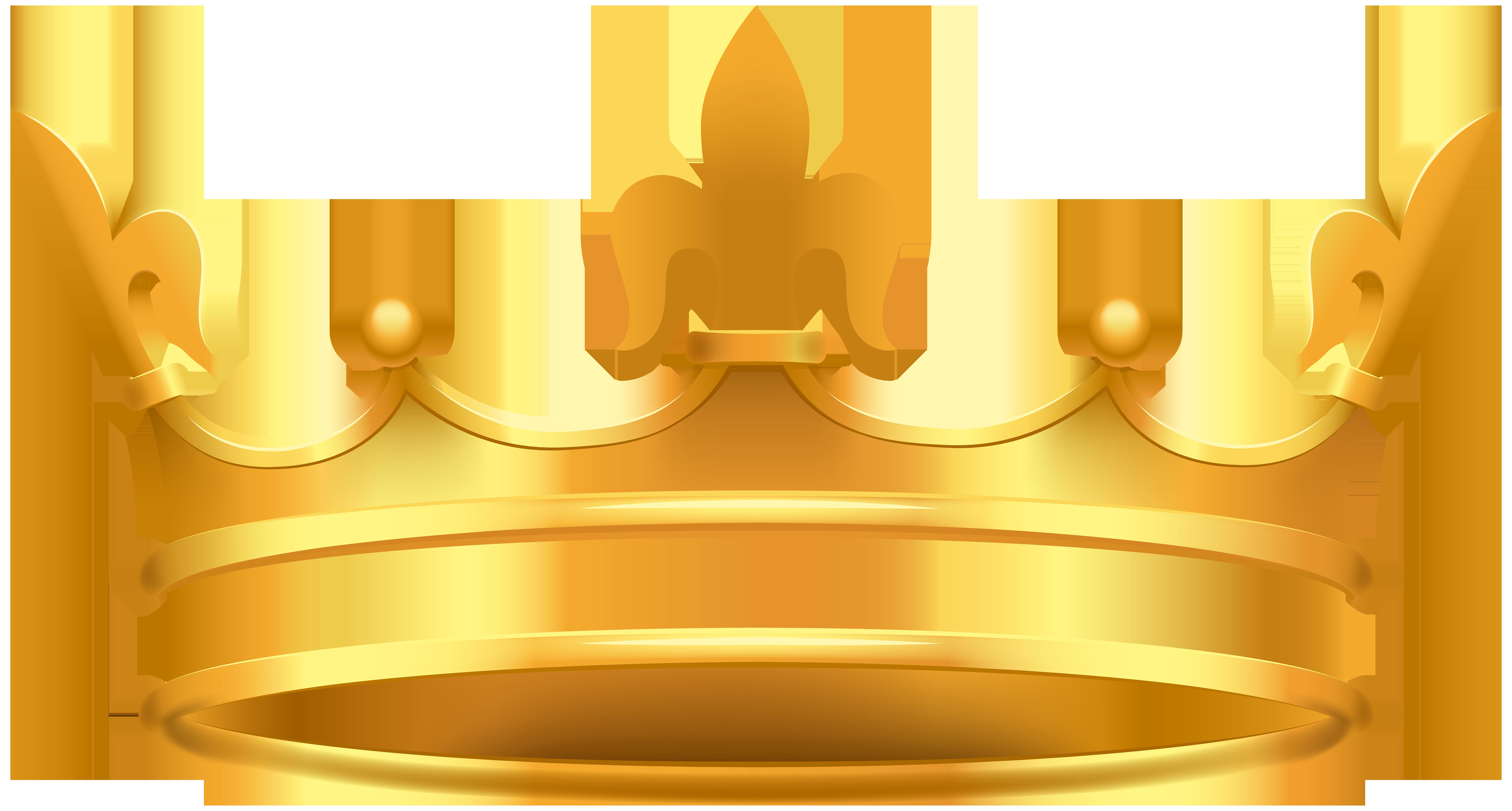 Crown PNG Clip Art Image.