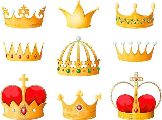 Best Crown Emoji Illustrations, Royalty.