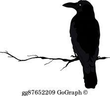 Crows Clip Art.
