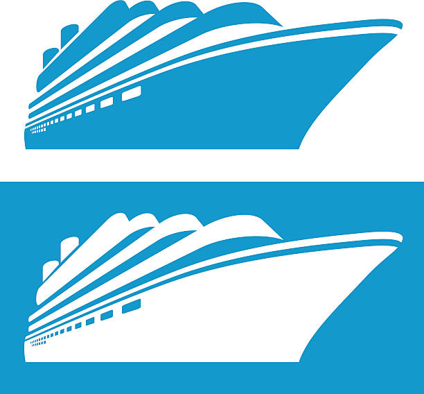 Best Cruise Ship Illustrations, Royalty.