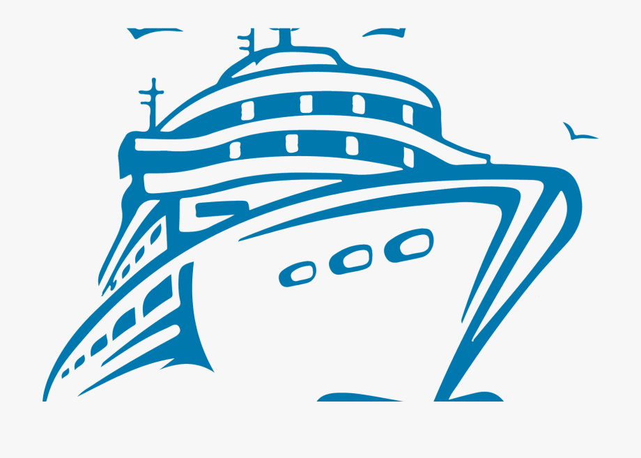 Transparent Cruise Ship Clipart.
