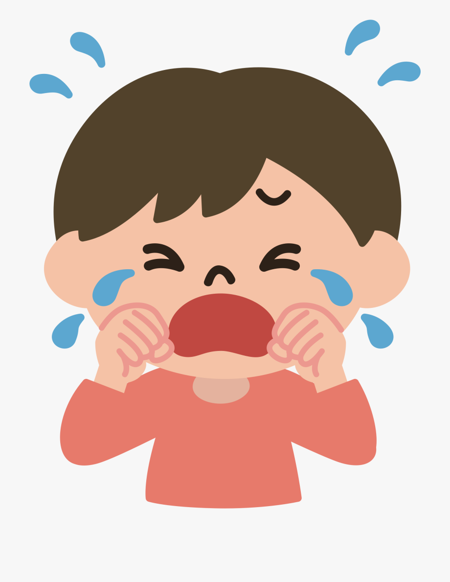 Cry Clipart Cried.