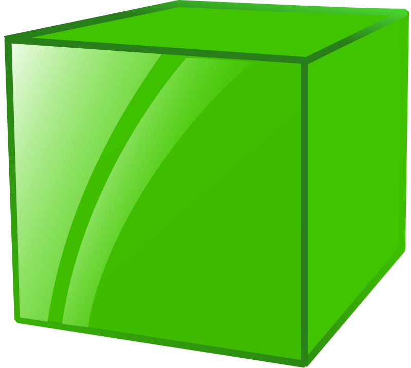 Free Clipart: Cube.