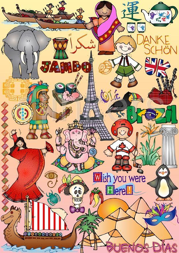 Cultural Clip Art Pictures.
