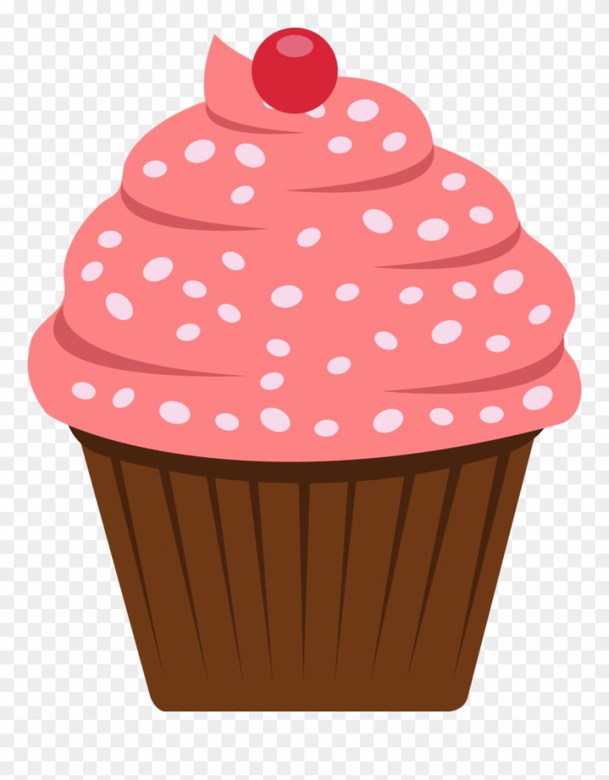 Cupcake Clipart, Cupcake Art, Cupcake Painting, Cupcake.