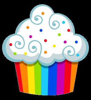 Cupcake Clipart PNG Transparent.