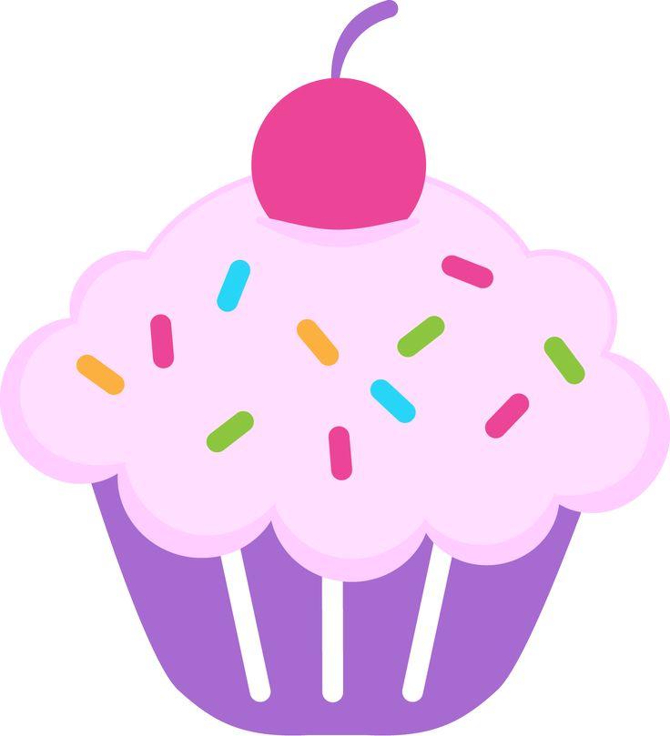 Cupcake clipart ideas on sticker cake 5.