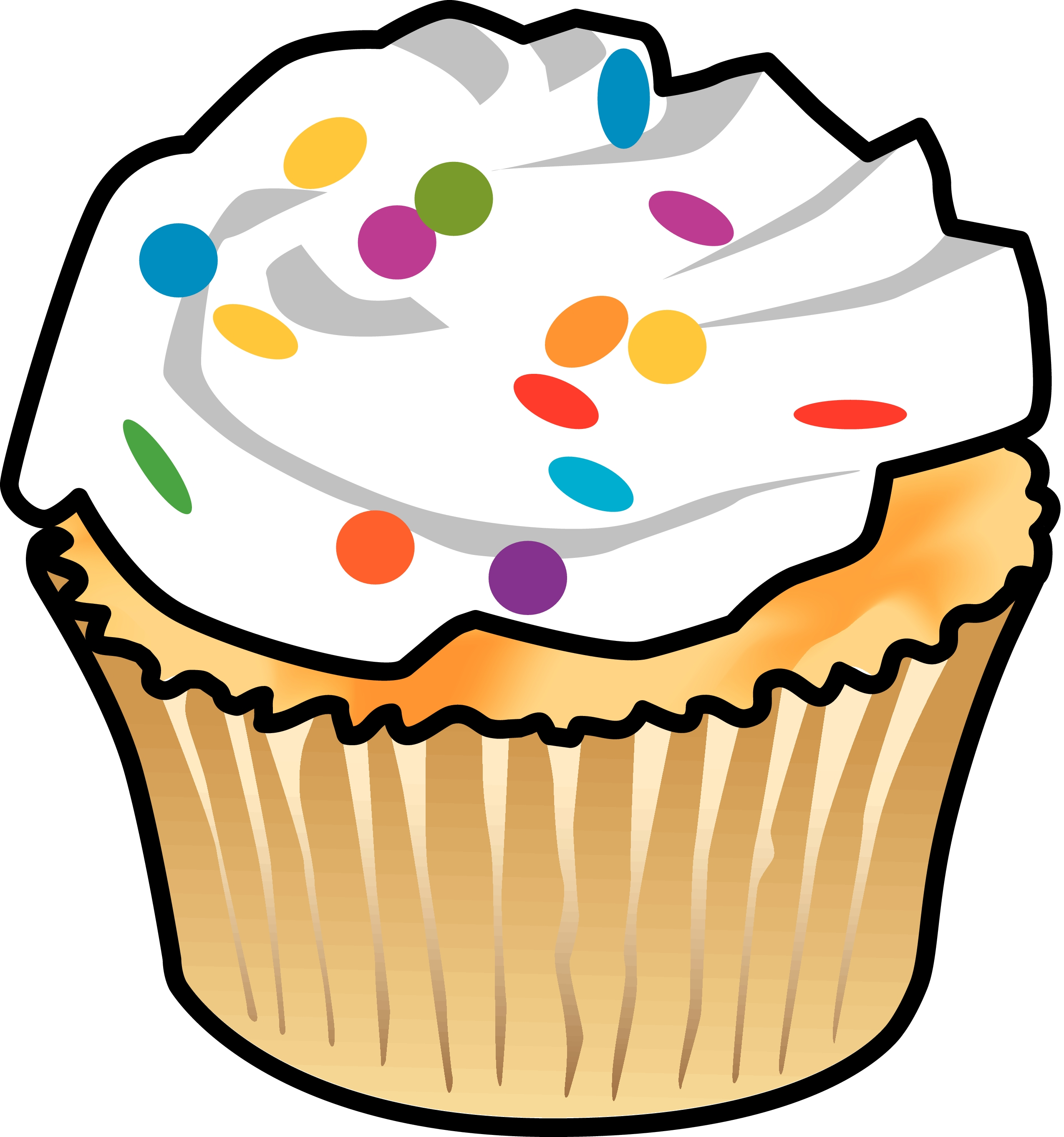 Cupcake Cupcakes Clipart Cake Sale Graphics Illustrations Free Png.
