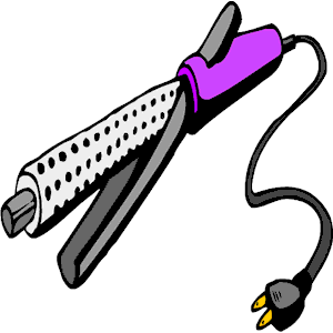 Curling Iron 3 clipart, cliparts of Curling Iron 3 free download.