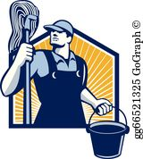 Janitor Clip Art.