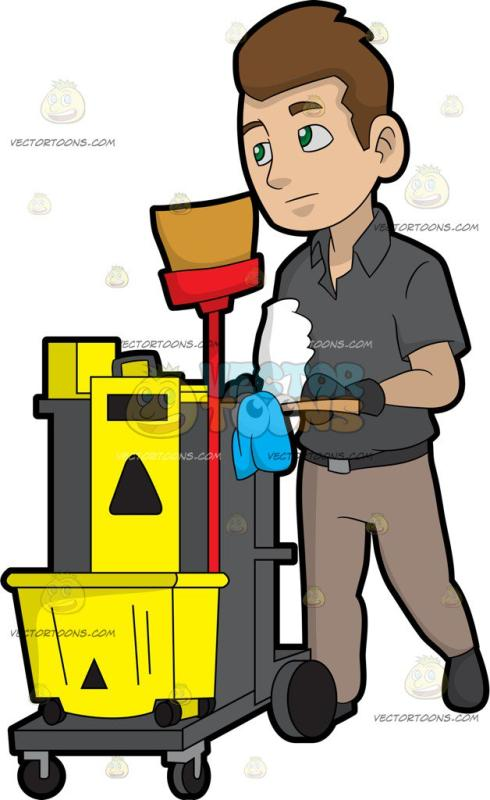Janitor Clipart Image & Free Clip Art Images #10348.