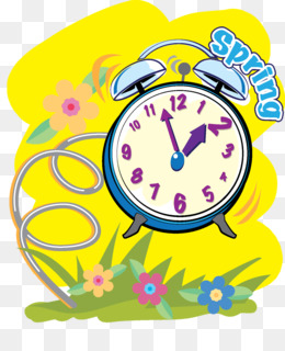 Daylight saving time in the United States Clock Clip art.