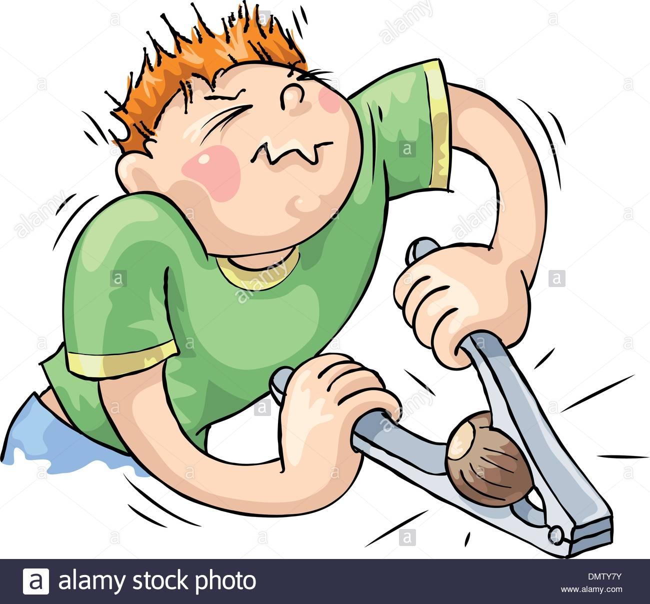 Hard Task Stock Vector Art & Illustration, Vector Image: 64472463.