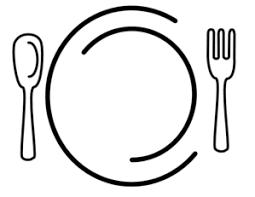Image result for clipart dinner.