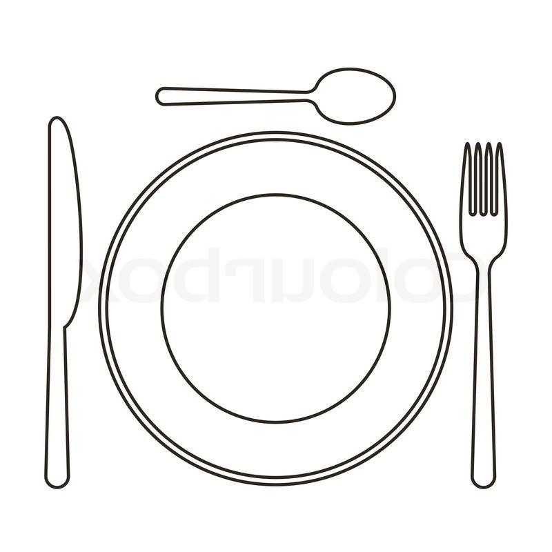 Dinner Plates Clip Art (46 ).