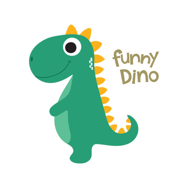 Best Baby Dinosaur Illustrations, Royalty.