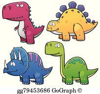 Dinosaurs Clip Art.