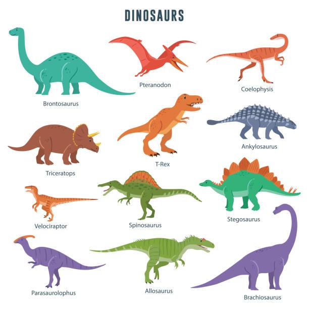 Best Dinosaur Illustrations, Royalty.