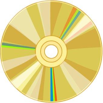 Clip art disk.