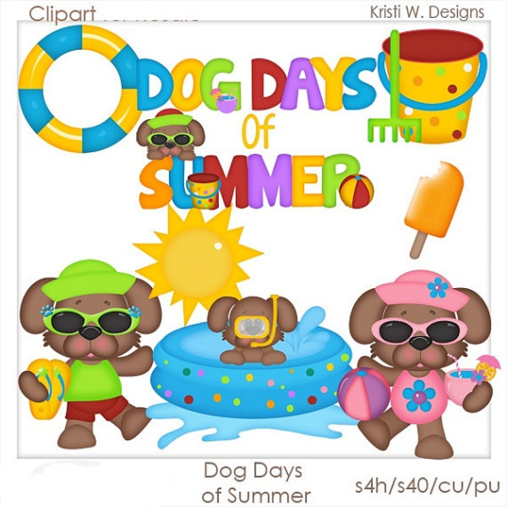 Free Dog Summer Cliparts, Download Free Clip Art, Free Clip Art on.