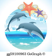 Dolphin Clip Art.