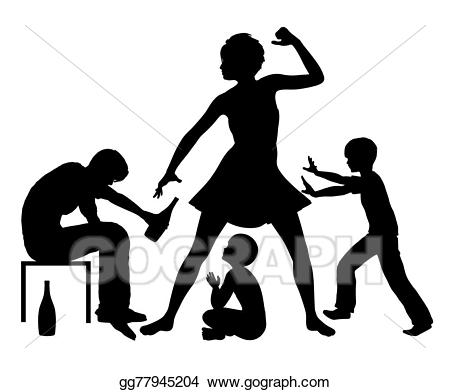 Domestic Violence Clipart 21.