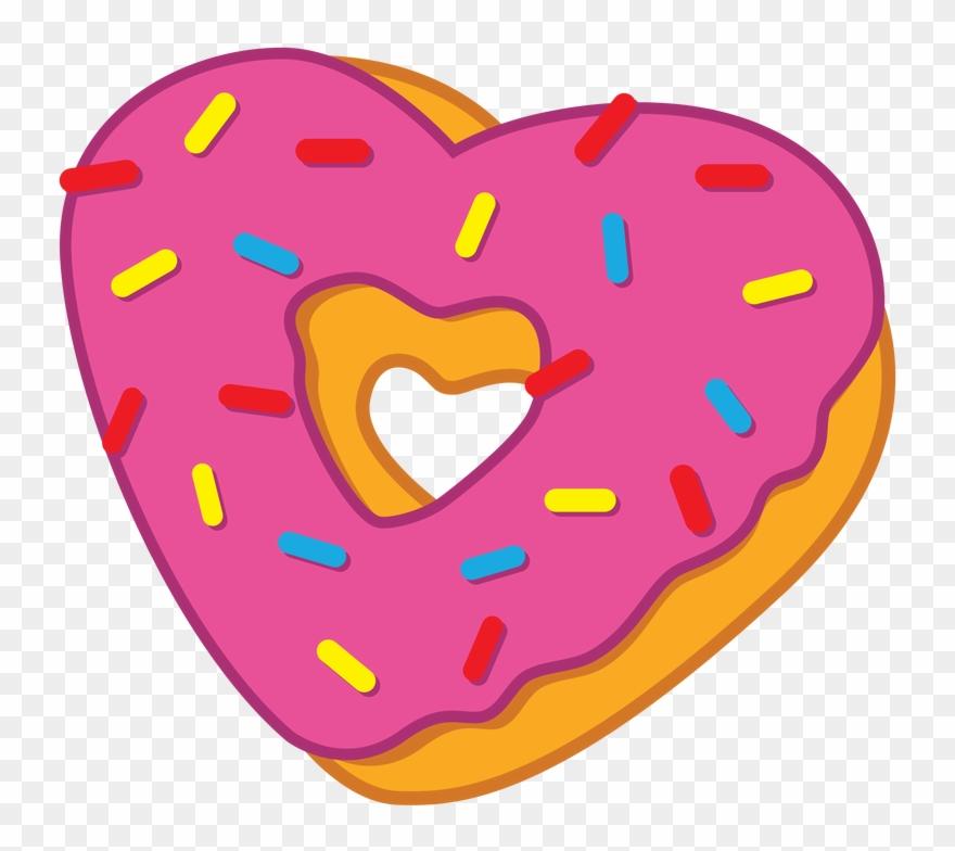 Heart Clipart Donut.