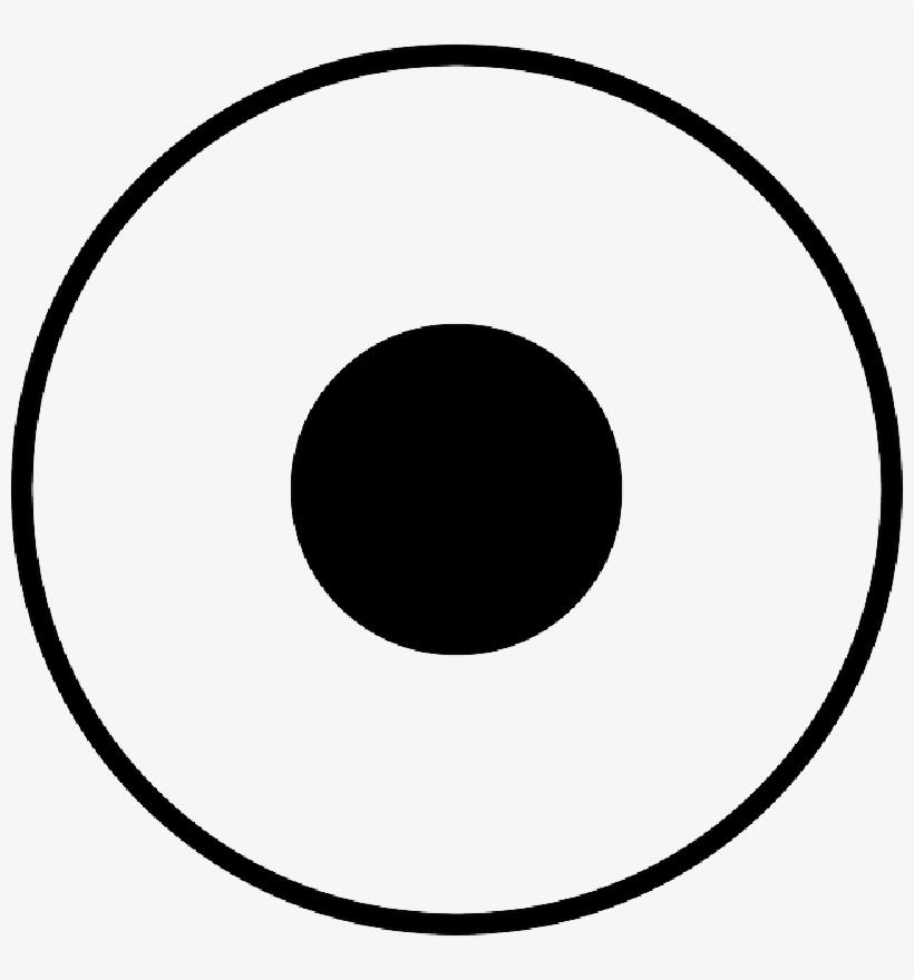 Black, Circle, Round, Target, Dot.