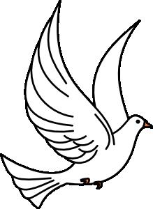 Flying Dove Clip Art at Clker.com.