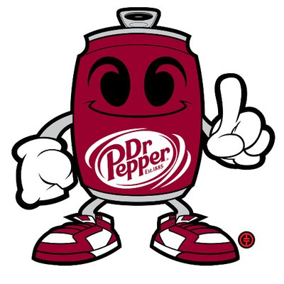 Dr Pepper Drawing.