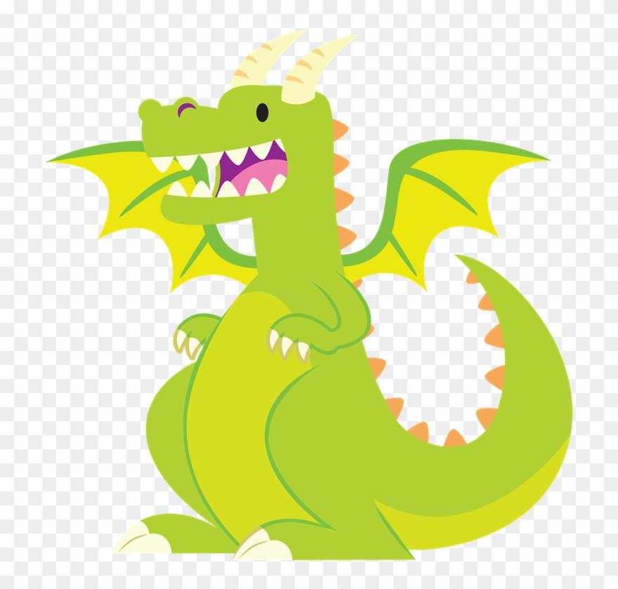 Free To Use Public Domain Dragon Clip Art.