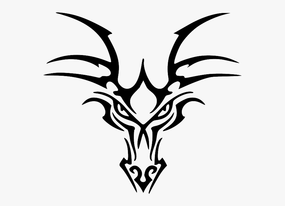 Ancient Celtic Dragon Head Designs.