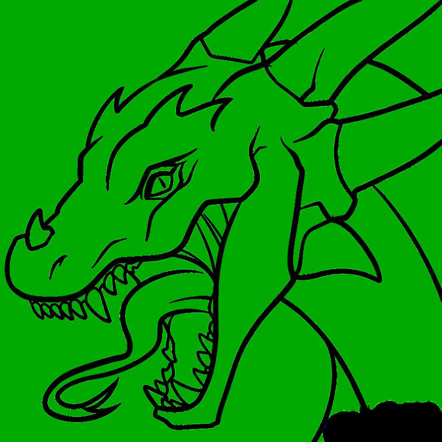 Free Dragon Line Art, Download Free Clip Art, Free Clip Art on.