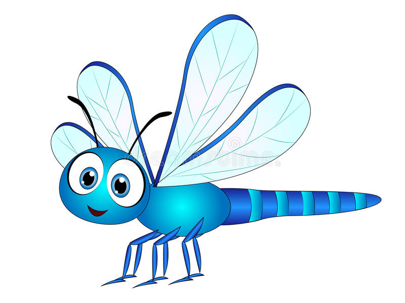 Cartoon Dragonfly Stock Illustrations.