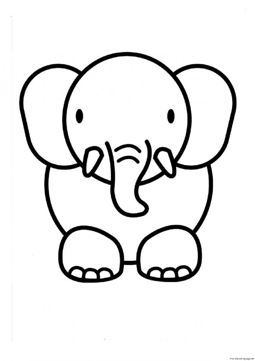 Coloring: Drawings To Colour In Free Pictures Of Animals Print.