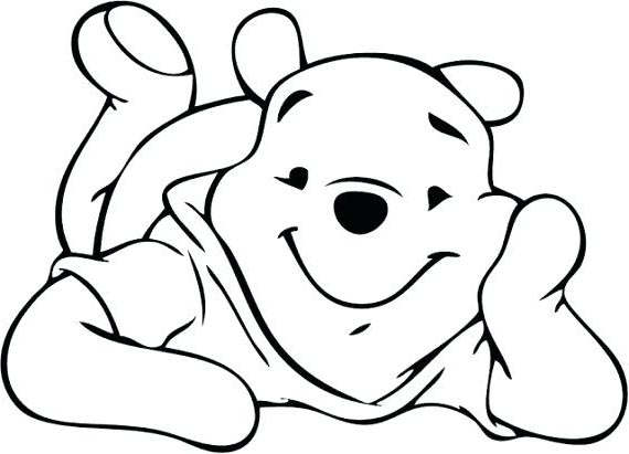 Easy Winnie The Pooh Clipart Drawings Outline Pooh.