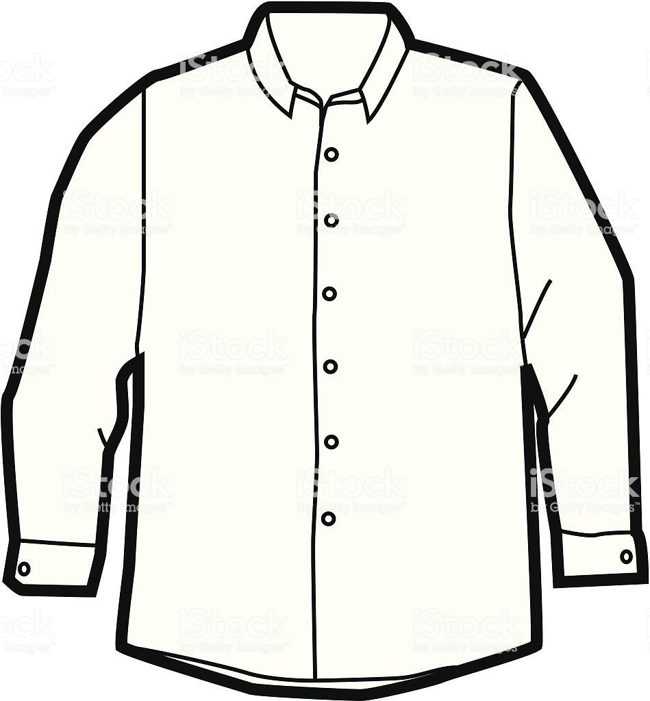 55+ Dress Shirt Clipart.