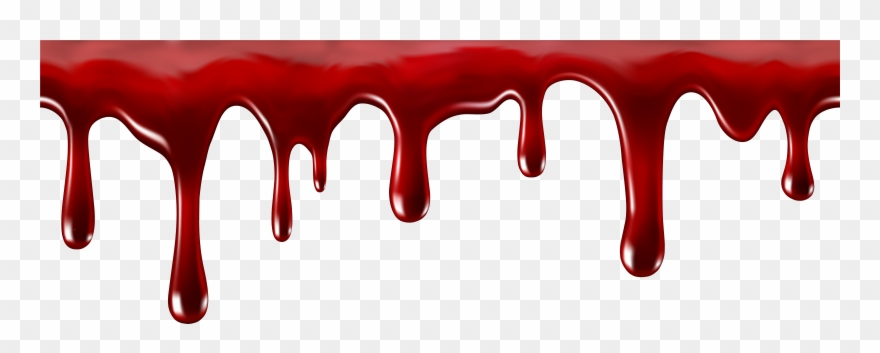 Dripping Blood Clipart.