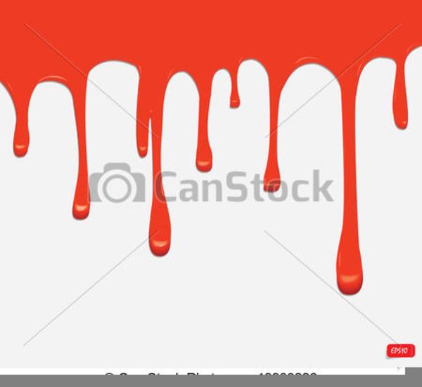 Paint Drip Clipart.