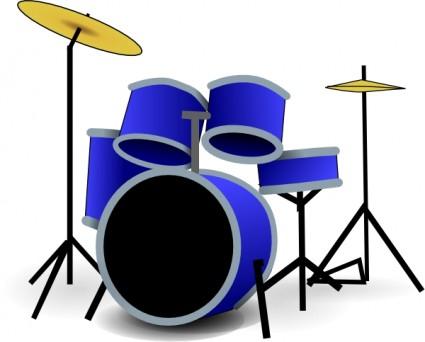 Free Drum Set Art, Download Free Clip Art, Free Clip Art on Clipart.