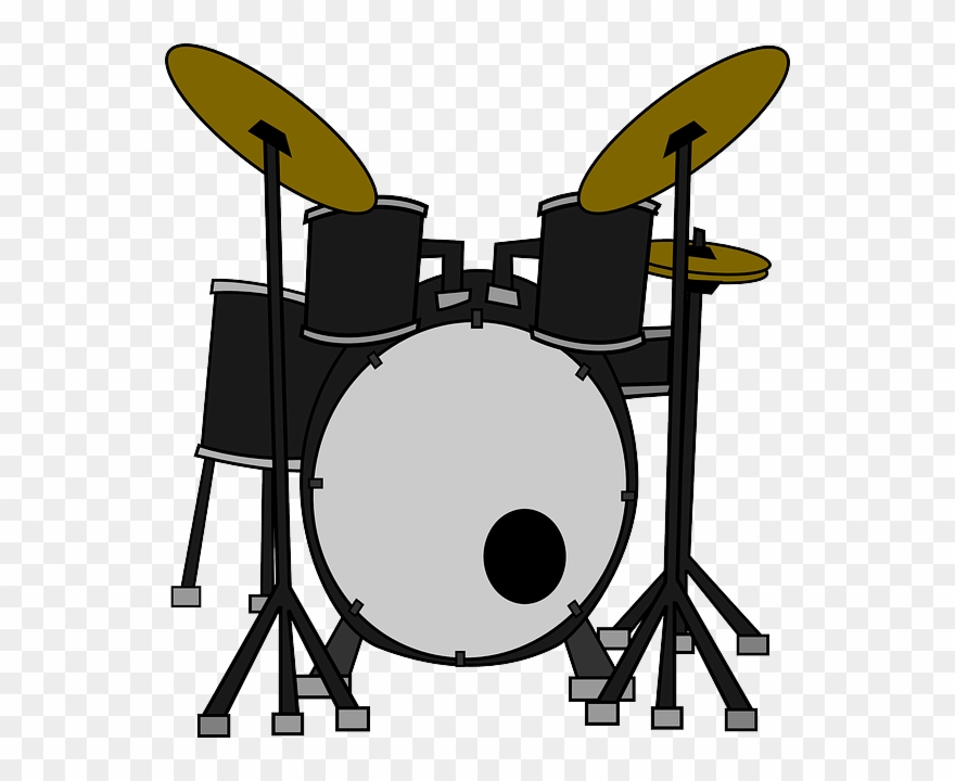 Download Novelty Drum Kit 12 Edible Stand Up Wafer.