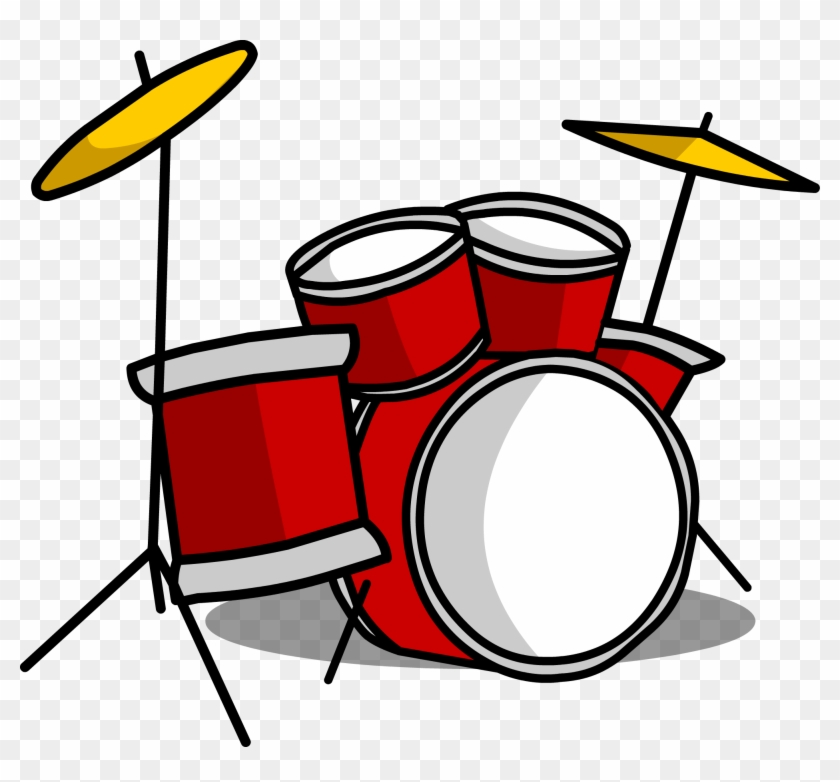 Graphic Royalty Free Library Drum Clip Extended.