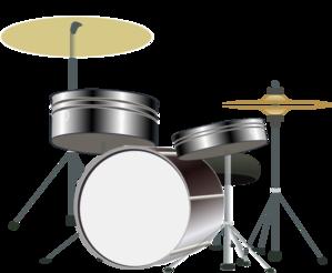 Drum Kit Clip Art at Clker.com.